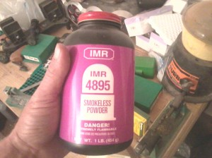 Gunpowder for reloading