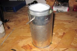 DIY Prepping Projects: Soup Can Coffee Pot