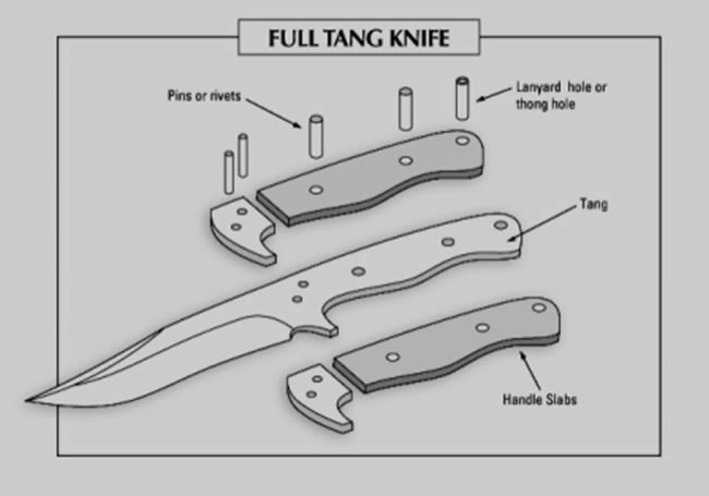 The Different Parts of a Knife: Anatomy of a Survival Knife