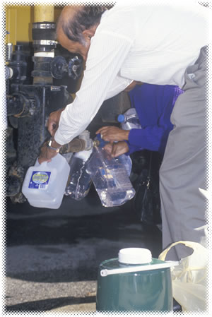 Water needs for blackout preps