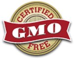 Legacy Food Storage certified GMO free.