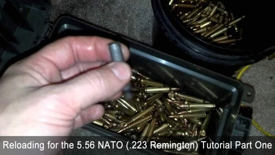 Reloading for the 5.56 NATO (.223 Remington) Tutorial Part One