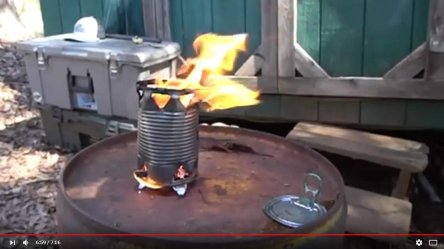 DIY Prepping Projects: Soup Can Coffee Pot & Soup Can Stove