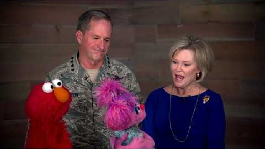 CSAF and Sesame Street – Family Deployments