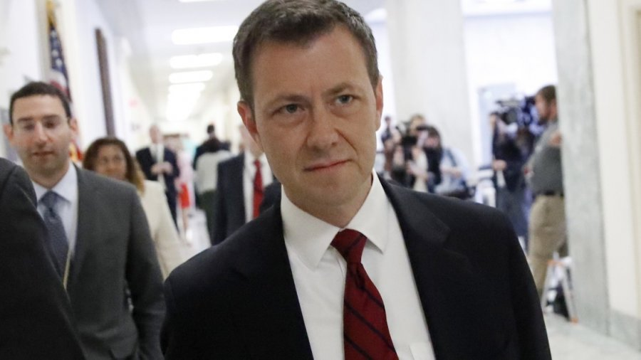 Peter Strzok faces the music