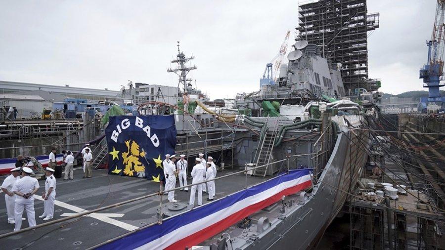 John McCain becomes third namesake for the USS John S. McCain