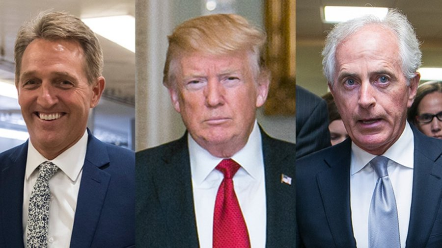 Senate GOP plots next steps to thwart Trump's trade war