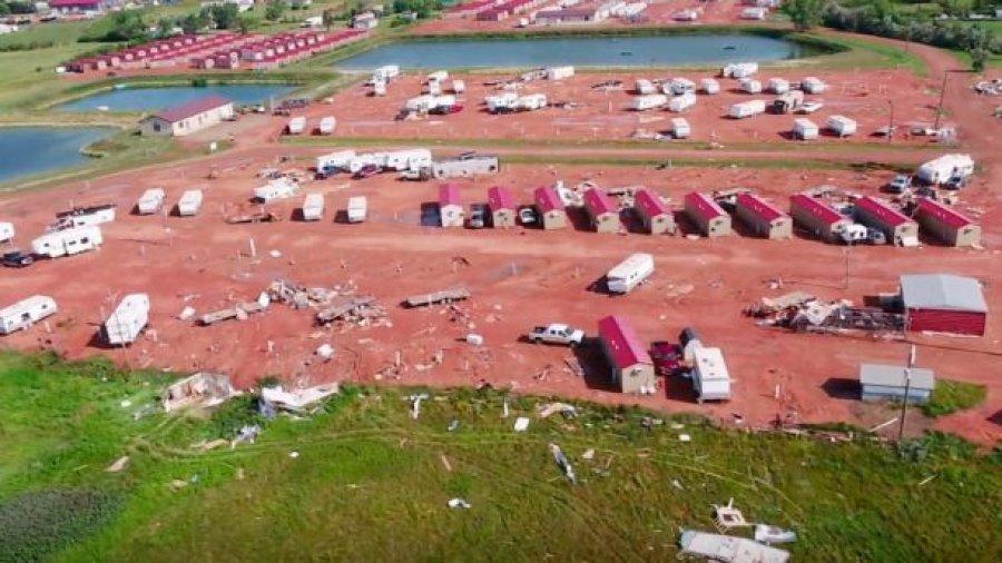 North Dakota tornado kills newborn, destroys over 100 structures