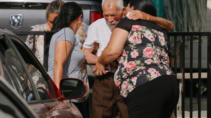 Elderly man beaten bloody thanks passer-by as arrest is made