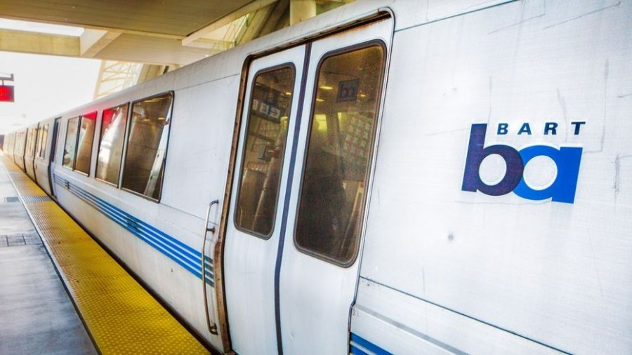 Video appears to show homeless man using drugs on BART train in San Francisco