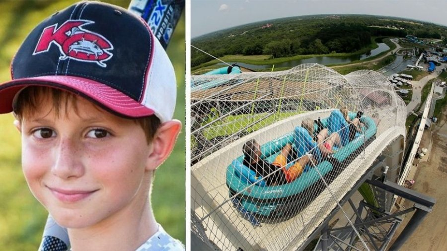 Kansas water park to tear down slide 2 years after boy's beheading