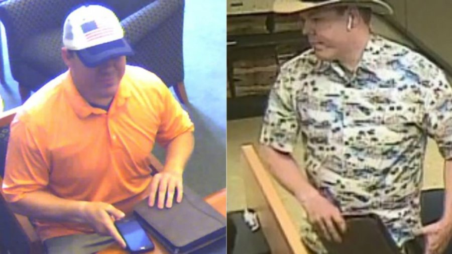'Faux Badge Bandit' hits two more banks as officials seek tips