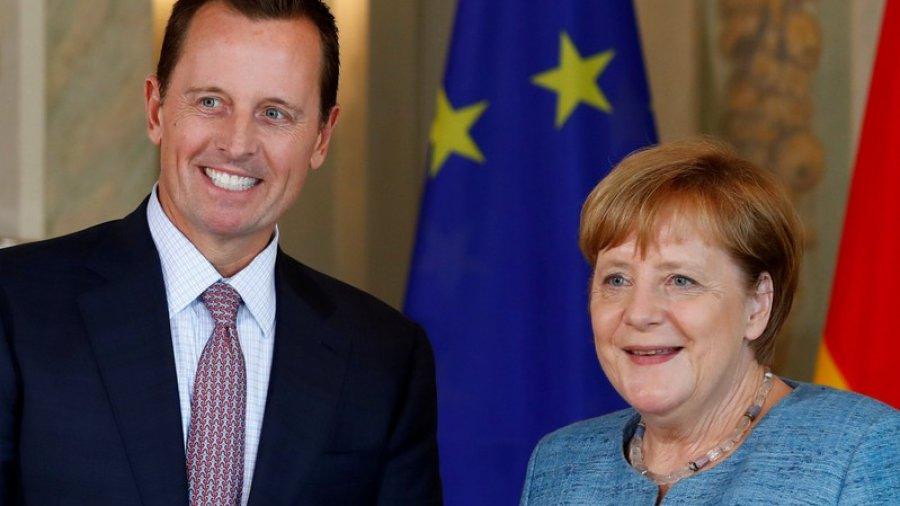 U.S. ambassador urges Germany to block Iran cash withdrawal