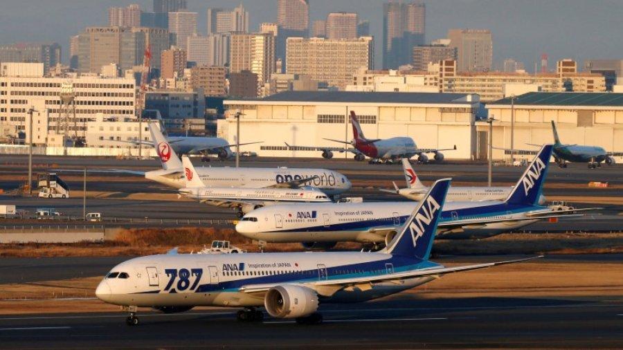 Japan's ANA cancels more flights for engine inspection