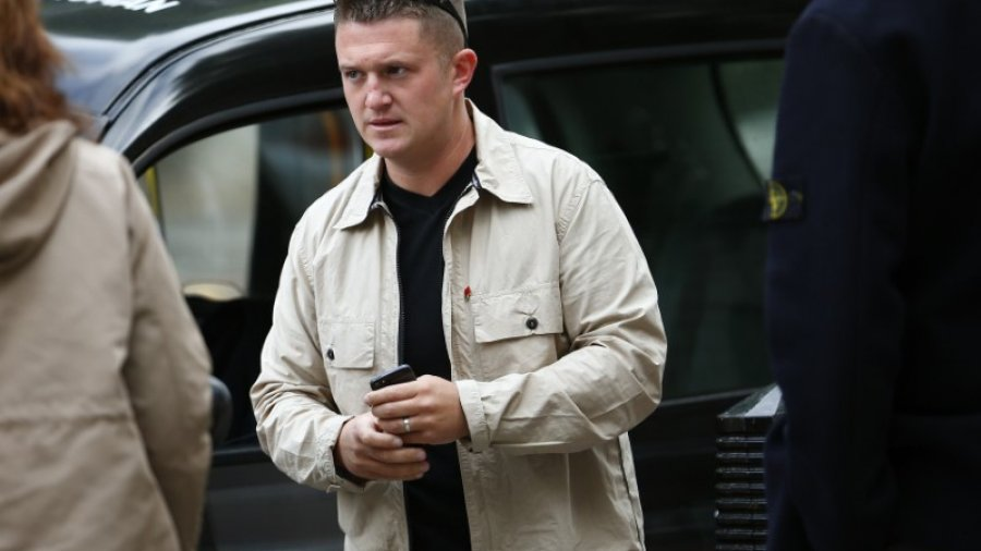 Trump's ambassador lobbied Britain on behalf of jailed right-wing activist Tommy Robinson