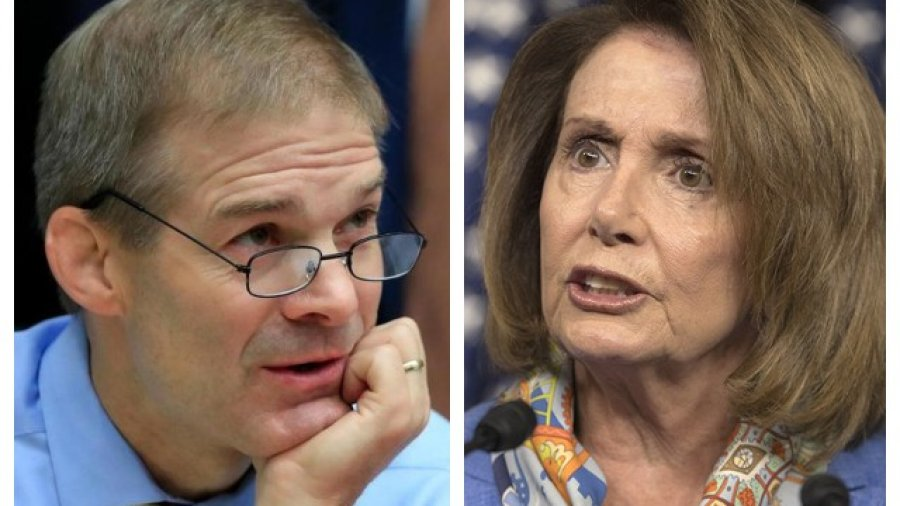 Pelosi Says Jordan Should Have Known About Wrestlers' Abuse