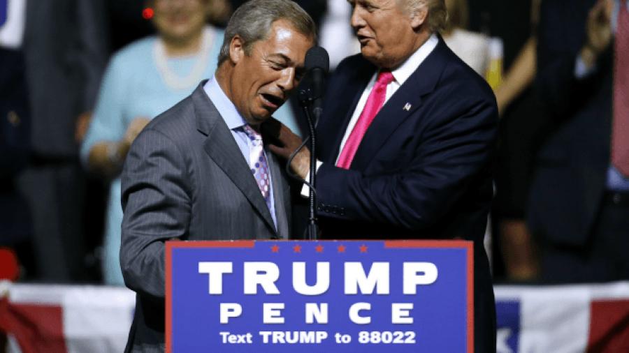 Farage: Trump Truths 'Have Hit Establishment Like a Bombshell'