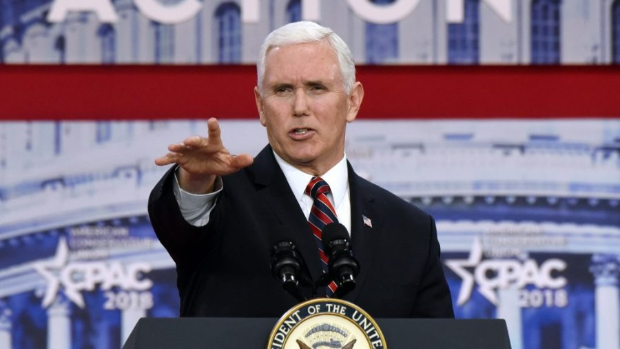 VP Pence defends ICE against attacks, calls ICE agents heroes
