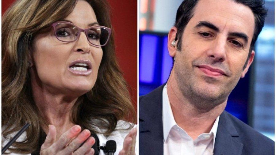 Palin Slams Sacha Baron Cohen's 'Pathetic' Response, Demands CBS Decide Which Vets Groups Will Receive Show's Profits