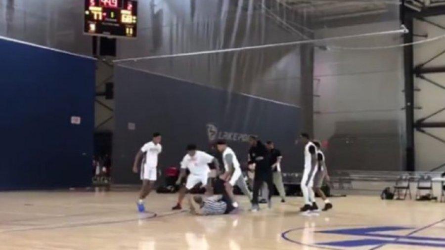 Watch: Chicago AAU Basketball Squad Brawls with Refs in Atlanta