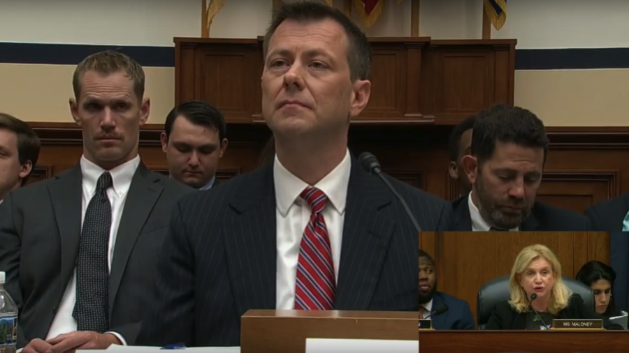 House Chairman threatens ex-FBI agent Strzok with contempt for not answering hearing questions