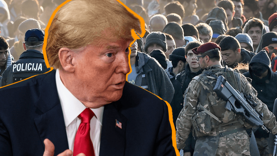'Very Sad': Trump Warns Mass Migration Means Britain, Europe 'Losing Its Culture'