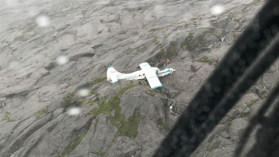 Pilot of plane that crashed in Alaska is former Navy and commercial aviator