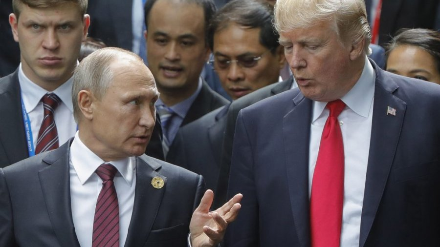 Trump says Putin summit 'may be the easiest of them all'