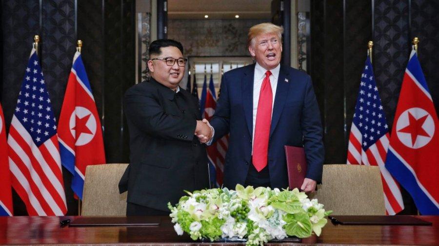 Trump tweets 'very nice' personal note he got from Kim Jong Un