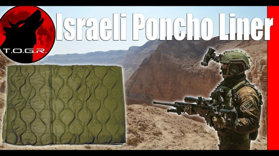 Better Than a Woobie? – Israeli Poncho Liner – IDF GI Issue – Military Surplus