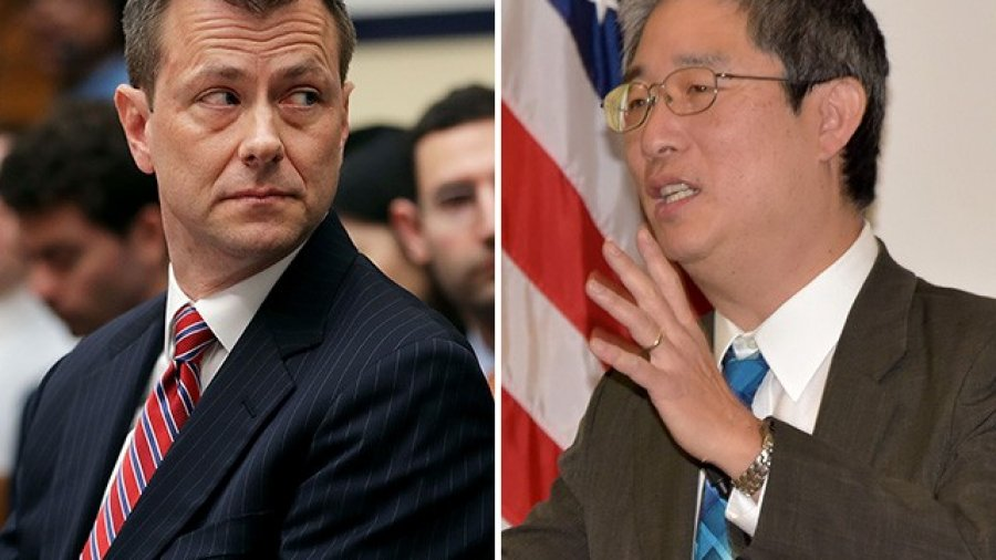Peter Strzok Reveals Bruce Ohr, Husband to Fusion GPS Operative, Gave Documents to FBI