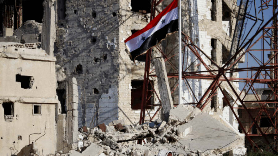 Syrian Troops Raise National Flag over Daraa, Cradle of 2011 Revolt