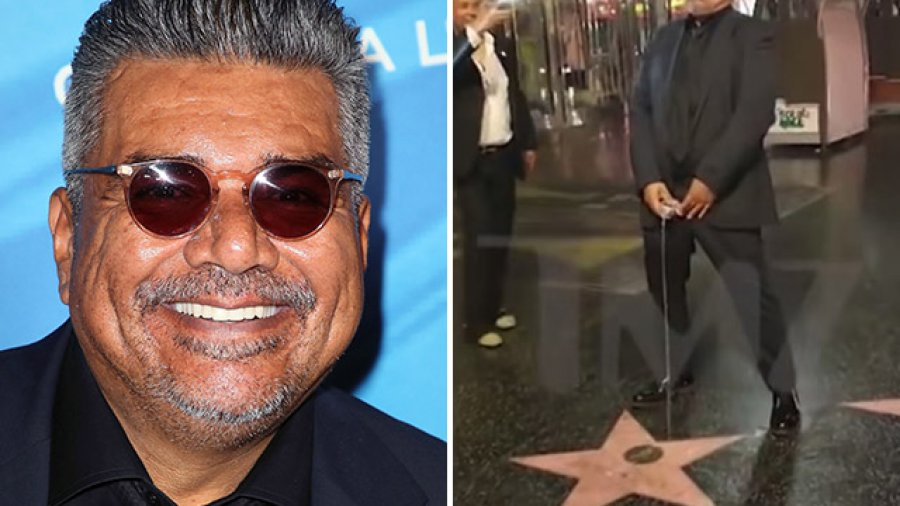 George Lopez 'Pees' on Donald Trump's Hollywood Star