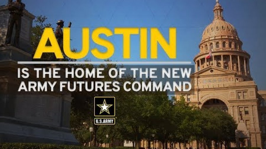 U.S. Army announces Austin as the home of new Futures Command
