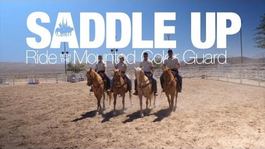 Saddle Up | Ride with the Marine Corps Mounted Color Guard (TEASER)