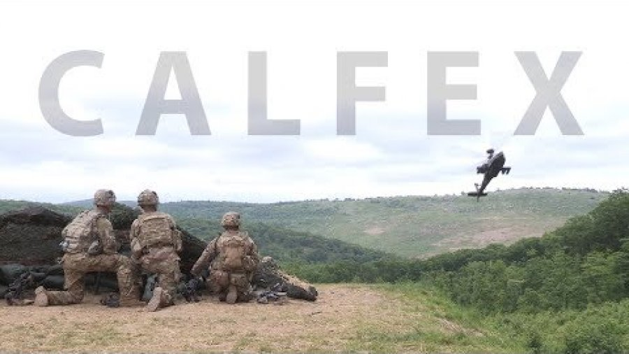 Cadets, Soldiers conduct a combined live-fire exercise