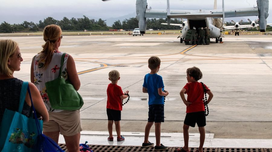 Osprey squadron arrives in Hawaii
