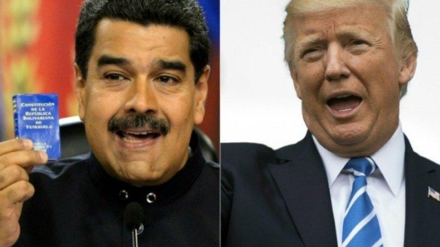 Nicolas Maduro Claims U.S. Wants War Between Colombia and Venezuela