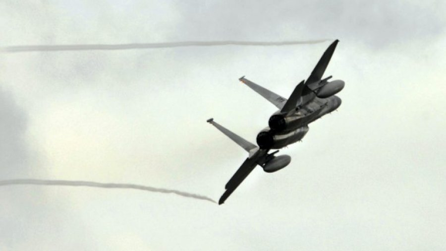 F-15 fighter jets pursued the hijacked airplane before it crashes in Seattle