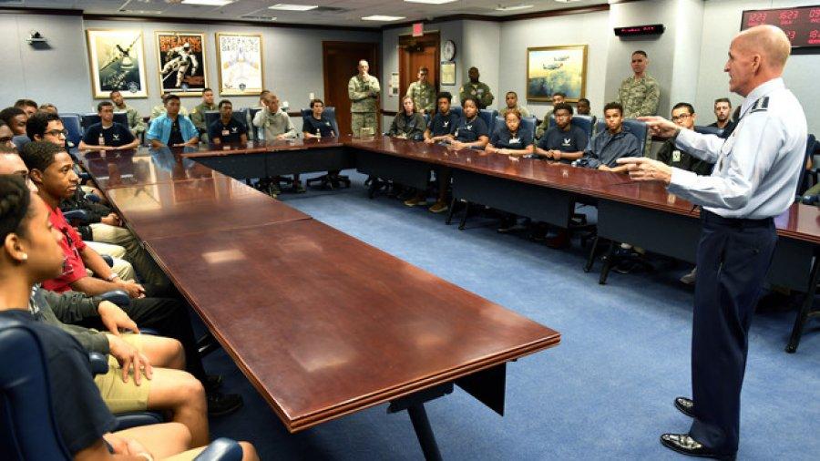 Air Force promotes pilot diversity with ACE Flight Program