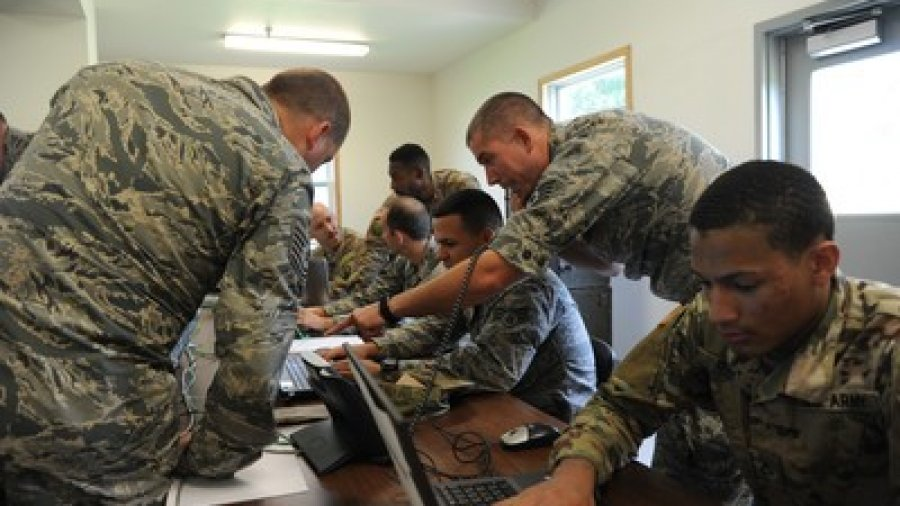 Air Force, Army, Navy Cyber Techs Participate in Exercise Patriot Warrior