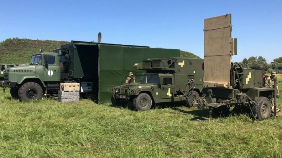Ukraine unveiled new test and repair station for US-made counter-mortar radars support