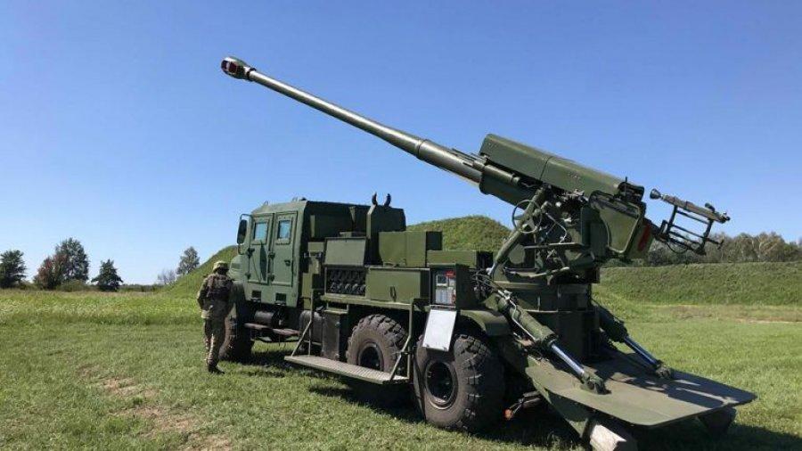 Ukraine develops new Bogdana 6×6 self-propelled howitzer