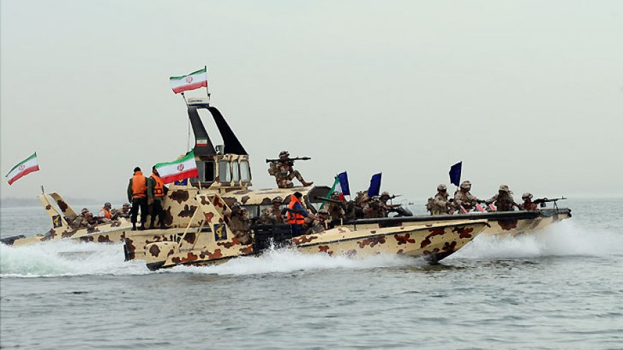 Iran starts massive naval drill in vital global Straight ahead of US sanctions