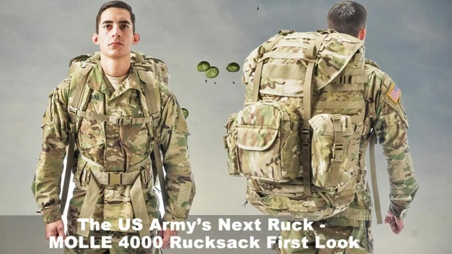 The US Army's Next Ruck - MOLLE 4000 Rucksack First Look
