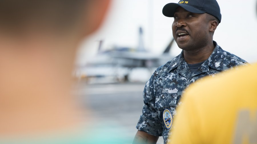 Carrier corpsman continues proud tradition