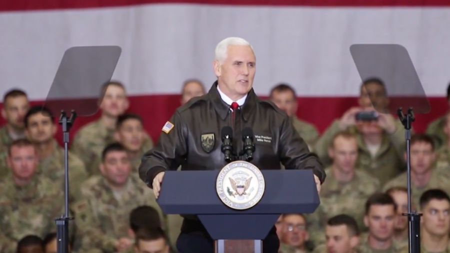 VP Pence announces Space Force countdown at Pentagon with Mattis