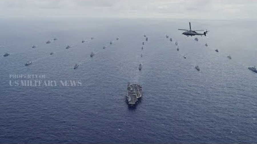 Here Are the 50 Plus Ships That Participated in the Navy's Pacific Wargames