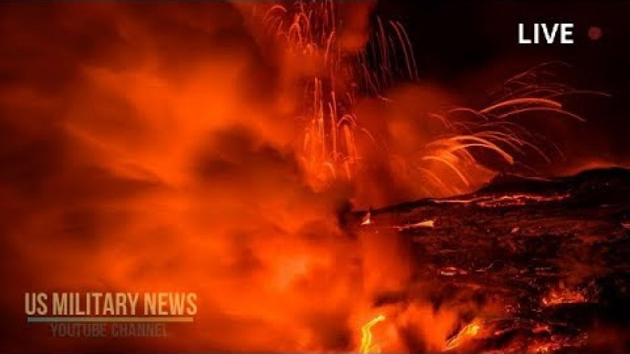 Hawaii Kilauea Volcano Eruption Sets RECORD – New Lava Land Mass Grows