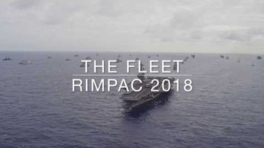 THE FLEET – RIMPAC 2018